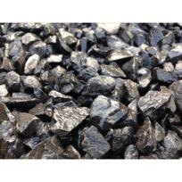 - Gravier décoratif 6 /14 concassé noir 25kg
