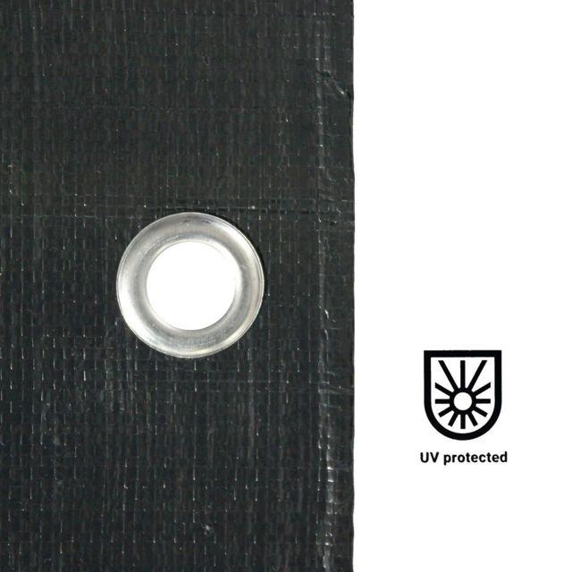 4 x 6 m/ètres 200 g//m/² GT Garden B/âche de Protection Ultra r/ésistante