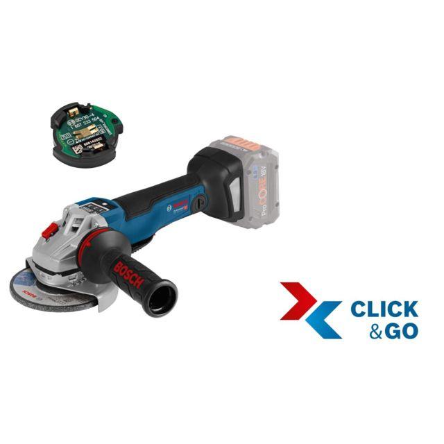 Bosch - Meuleuse angulaire sans fil Gws 18V-10 Psc, avec Gcy 30-4, L ... b1cd65e3ba6c