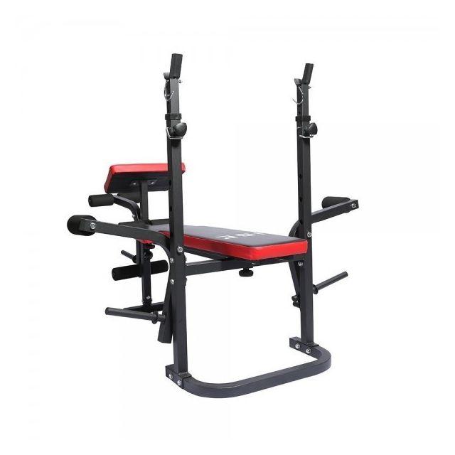 Ise Banc De Musculation Multifoncion Réglable Pliable Fitness Pour