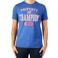 Champion - Tee Shirt Tee 211394-BVU Bleu