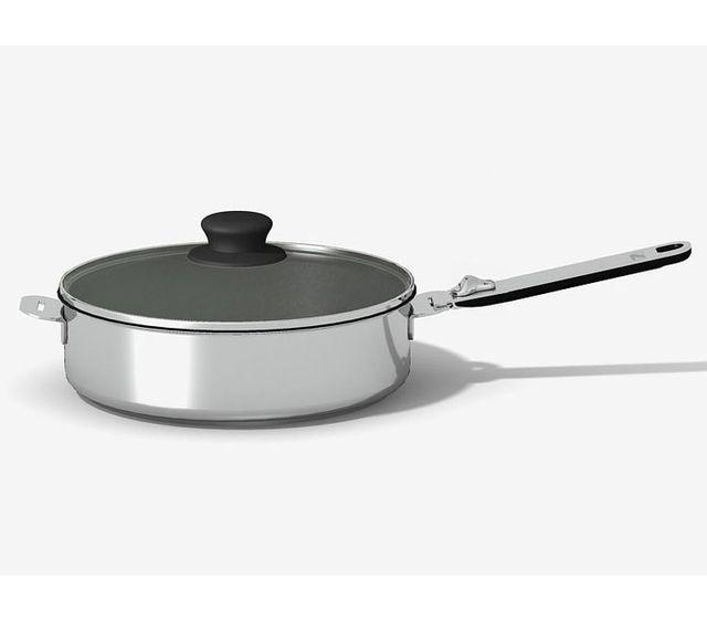 Beka Sauteuse en inox avec poignée et couvercle D. 24 cm Move On Kitchen Fun by
