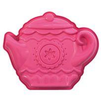 Pavonidea - Moule en silicone platine rose spéciale pour fille - Tea time