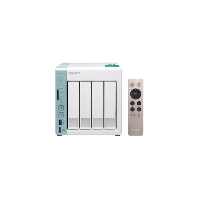 qnap serveur nas ts 451a 4 baies avec 2 go de ram avec processeur dual core intel celeron. Black Bedroom Furniture Sets. Home Design Ideas