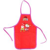 Promobo - Tablier de cuisine enfant Humour Princesse Jolie 3 à 8 ans