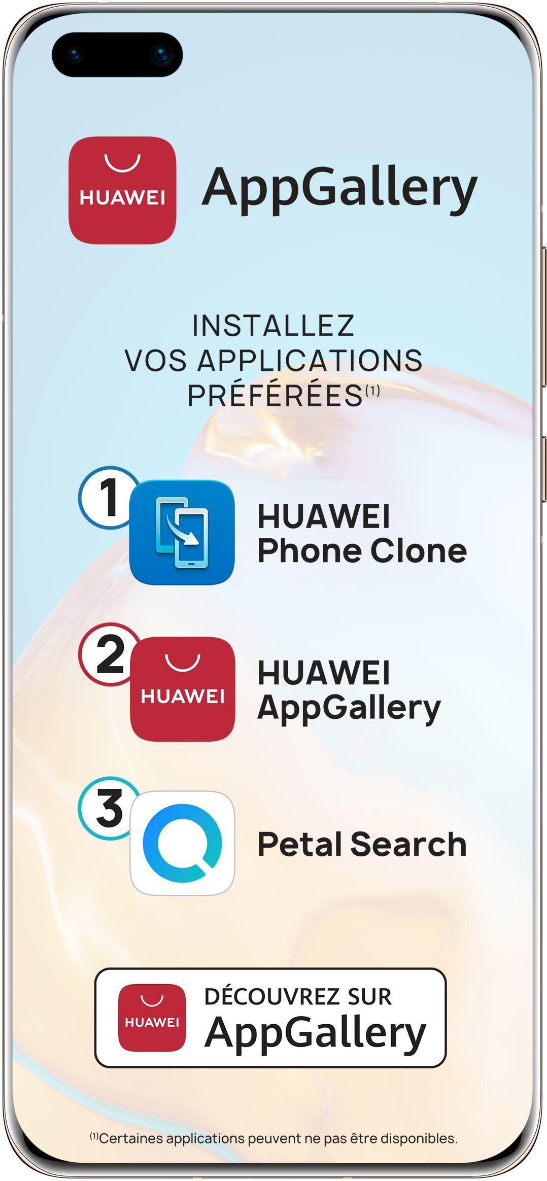 Smartphone P40 Pro 5G 256 Go Huawei Rose doré