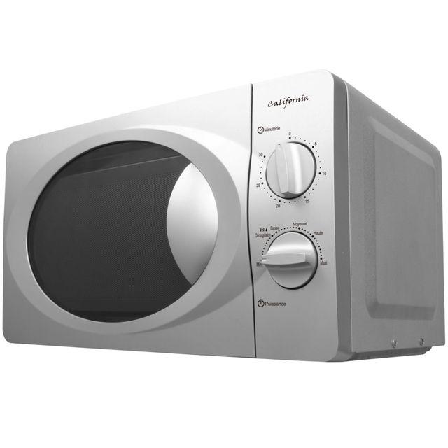 CALIFORNIA - micro-ondes 20l 700w silver - 20mx70l