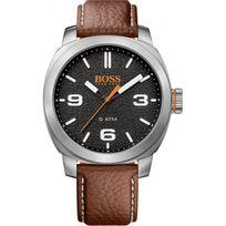 Hugo Boss Orange - Montre Boss Orange Cape Town 1513408 - Montre Cuir Marron Homme