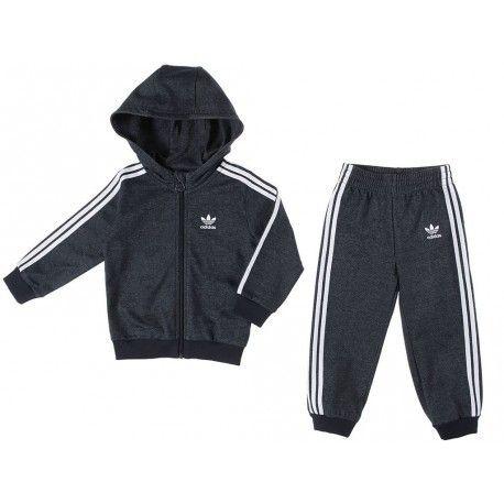 pantalon de survetement adidas garçon noir et blanc