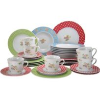 Creatable - 16370 Country Emily Service Complet 30 Pièces