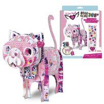 Lansay - Kit mes animaux Head Case 360° : Chaton