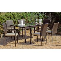 Hevea - Table de jardin extensible 150/200x90 cm Tayton