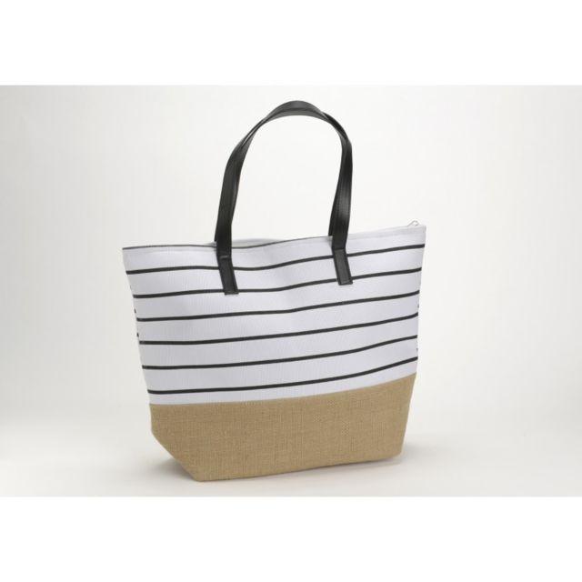 0af498179ef5 Autre - Sac Elegant Noir BLANC - pas cher Achat   Vente Entretien des  chaussures - RueDuCommerce