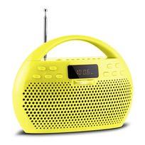 Trevi - Kb 308 Bt Radio boombox numérique bluetooth micro Sd Usb -jaune