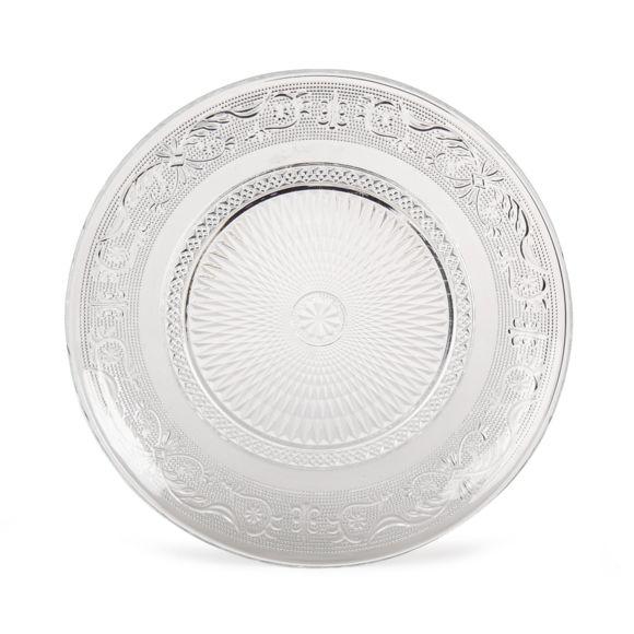 Alinéa - Classica Assiette plate en verre