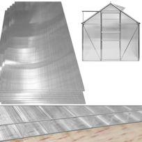 Rocambolesk - Superbe Plaque de polycarbonate pour serre, 4mm d'épaisseur 10,25 m² Neuf