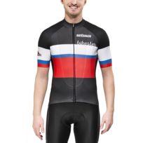 Bikester - Bioracer Classic Race - Maillot manches courtes Homme - rouge/noir