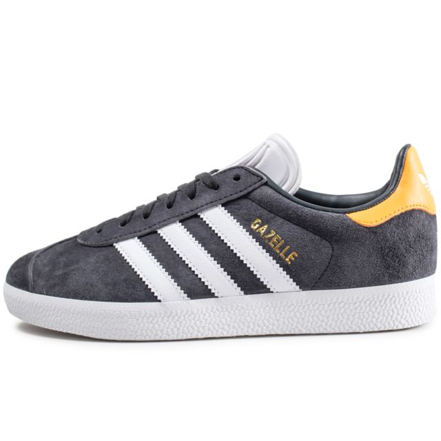 low priced efef3 6aad3 Adidas originals - Gazelle Gris Foncé Et Jaune