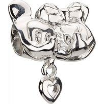 Chamilia - Charm en Argent - Collection Disney - Mickey & Minnie