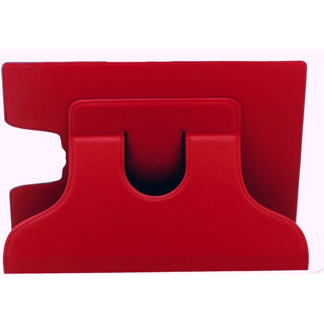 Cleverline - Etui rotatif pour Samsung Galaxy Tab S2 9.7 - rouge brillant