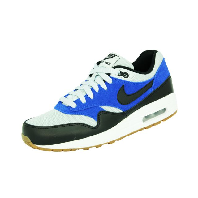 Nike - Air Max 1 Essential Chaussures Mode Sneakers Homme Cuir Suede Bleu  Blanc - pas cher Achat   Vente Baskets homme - RueDuCommerce caec5bc3fdad