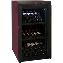 Climadiff - Cave à vin de vieillissement - 1 temp 142 bouteilles - Lie de vin Aci-cli720 - Pose libre