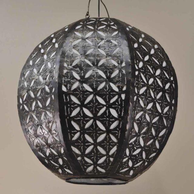 Wanda Collection Suspension lustre acier déco de 40cm