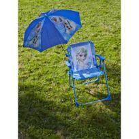 Jemini - Chaise Disney La reine des neiges avec parasol
