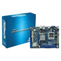 ASROCK - Carte mère G41M-VS3 R2.0 - Chipset INTEL G41 - Socket LGA775