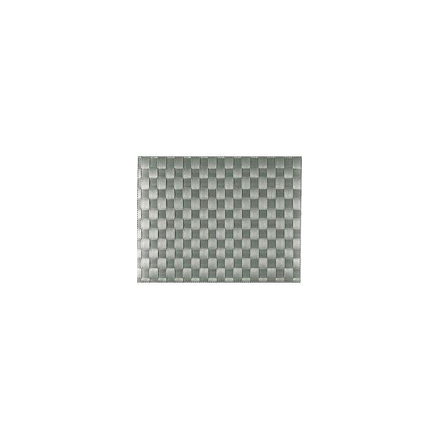 Saleen Set De Table Tissé 40x30 Cm - Gris Ardoise
