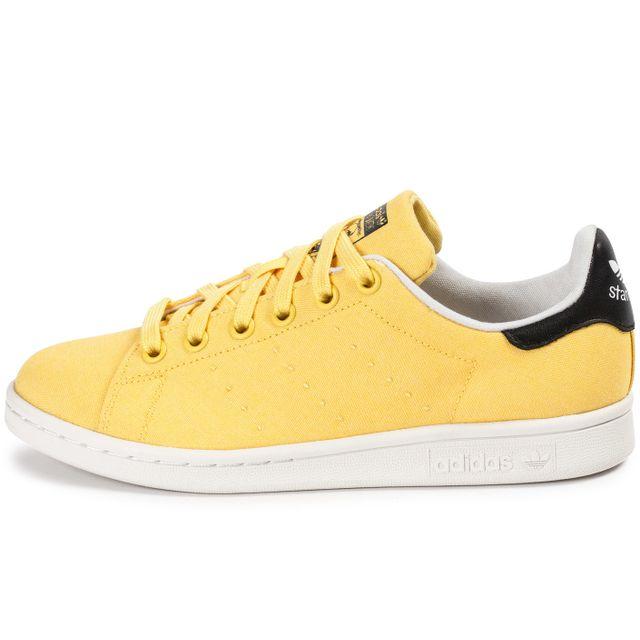Adidas originals - Stan Smith W Spring Yellow Bbq Jaune - pas cher Achat    Vente Baskets femme - RueDuCommerce bc8d58e3da0c
