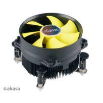 Akasa - Kit Radiateur + Ventilateur Cpu - Low Profile - Pwm - K32 - Intel