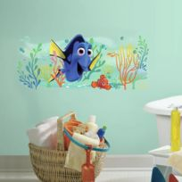 Room Mates - Stickers Disney Dory Et Nemo Graphic Géant Roommates Repositionnables 99x32cm