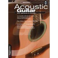 Voggenreiter - Méthodes Et Pédagogie Turk / Zehe Acoustic Guitar Debutants Et Avances ed. Francaise, + Cd - Guitare Trompette