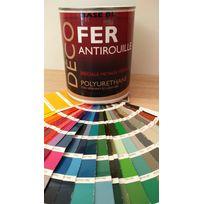 Icopeint - Peinture Glycéro Satin - Deco Fer - Violet pastel - Ral 4009 - 1L