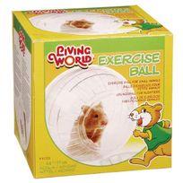 Living World - Boule d'exercice pour rongeurs Diamètre 17 cm