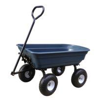 RUE DU COMMERCE - Chariot de jardin en plastique