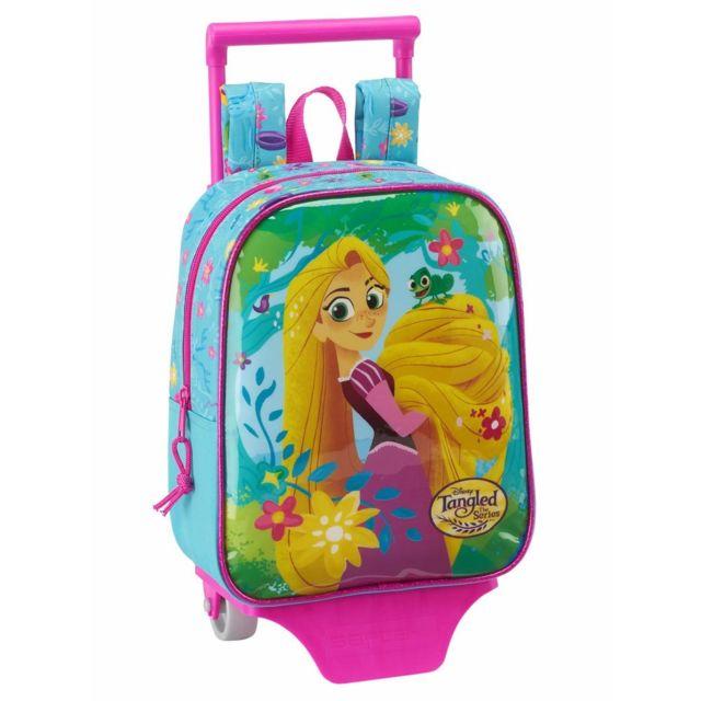 Disney Princesses - Sac à roulettes Princesse Raiponce 28 Cm maternelle  Haut de Gamme - Cartable 11f4ef313224