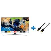 Samsung - TV LED 40'' 101cm UE40MU6405 + Cordon HDMI 1.4 - 1.5 mètres