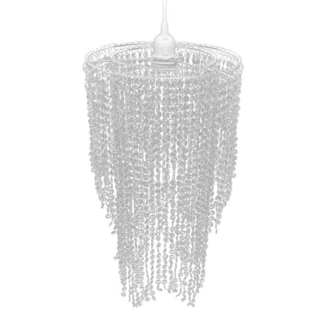 helloshop26 lustre plafonnier suspendu lampe moderne cristal 50 cm 2402008 pas cher achat. Black Bedroom Furniture Sets. Home Design Ideas
