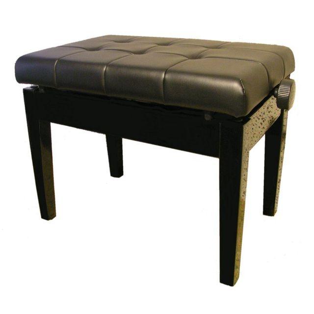 msa banquette pour piano simili cuir noir pas cher achat vente accessoires claviers. Black Bedroom Furniture Sets. Home Design Ideas