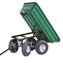 Chariot remorque de jardin 52 litres