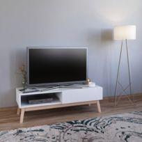 Meuble tv 120 cm Achat Meuble tv 120 cm pas cher Soldes