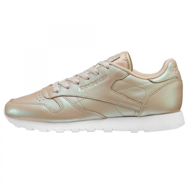Reebok - Basket Classic Leather Pearlized - Ref. Bd4309 - pas cher ... 0c8024928a3c