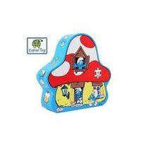 Barbo Toys - Puzzle La Schtroumpf maison 48p