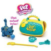 PET PARADE - CHATS - Coffret Soin avec un chat, un sac transport et des accessoires - PTC03