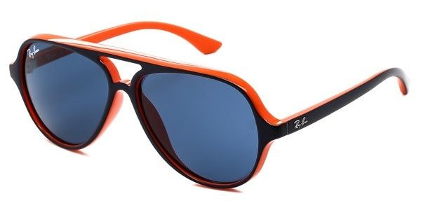 364eebf9c9ff2f Ray-Ban - Lunettes de soleil Junior Bleu et Orange Rj9049S Rj9049S 178 7B  50-12 - pas cher Achat   Vente Lunettes Tendance - RueDuCommerce