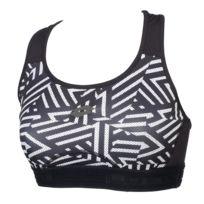 6ee40b13c33c5 Adidas - Brassière Strappy bra 3s black whit Noir 58070 - pas cher ...