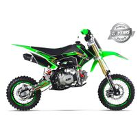 Gunshot - Moto Pit Bike 140 Fx - Édition Monster - Vert - 2017