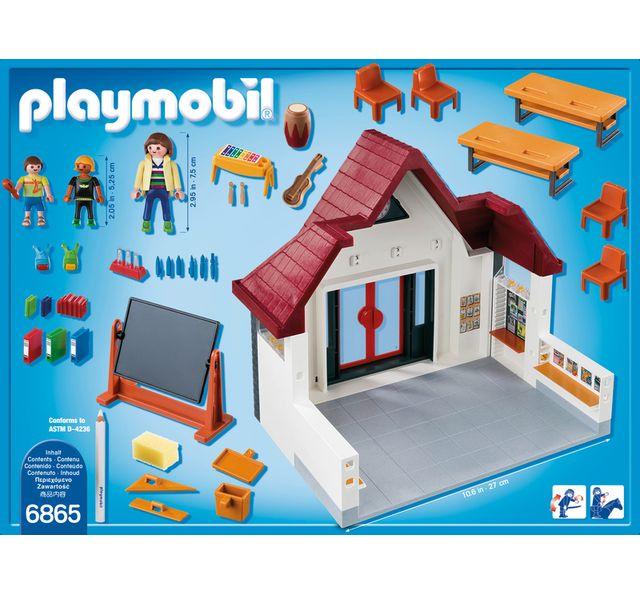 PLAYMOBIL - Ecole avec salle de classe - 6865